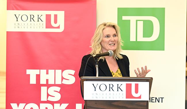 York University President and Vice-Chancellor Rhonda L. Lenton
